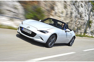 Mazda MX5 (Mk.4), 2015, White, & black