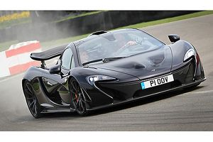 McLaren P1 (at GRRC 72nd Meeting, 2014) 2013 Black