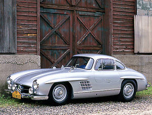 Mercedes-Benz 300SL Gullwing Works Prototype 1953 Silver