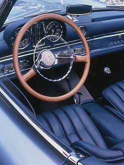 Mercedes-Benz 300SL/SLS Prototype 1955 Blue ice