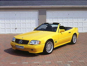 Mercedes-Benz 500SL AMG, 1996, Yellow