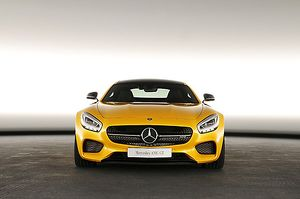 Mercedes Benz AMG GT, 2014, Yellow