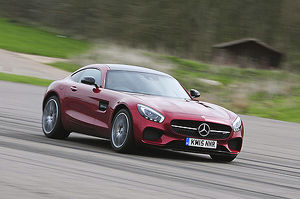Mercedes-Benz AMG GT-S, 2015, Red, metallic