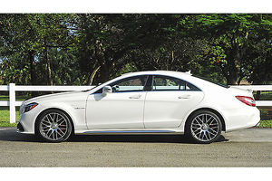 Mercedes-Benz CLS63 AMG V8 Biturbo, 2015, White