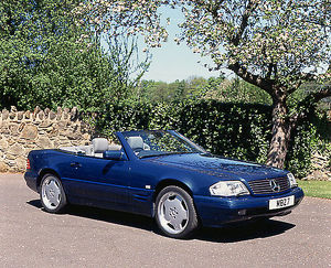 Mercedes-Benz SL 500 AMG, 1999, Blue, aqua