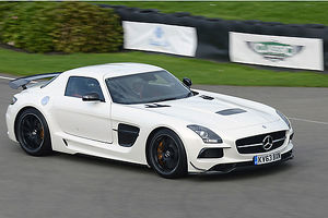 Mercedes-Benz SLS AMG Black Series, 2013, White