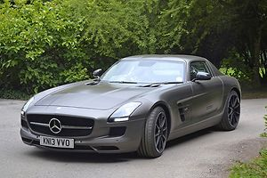 Mercedes-Benz SLS AMG GT Gullwing , 2013, Grey
