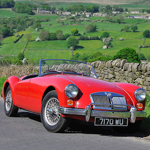 MG MGA 1600 Roadster, 1960, Red