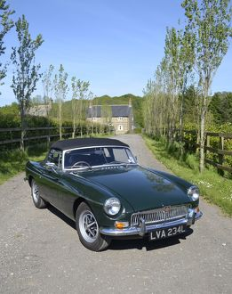 MG MGB Roadster 1972 Green