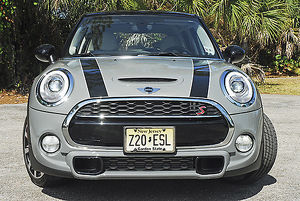 Mini Cooper S 5-Door, 2015, Grey, & black