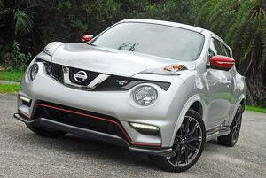 Nissan Juke Nismo 2015 Silver & red