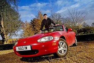 Owner with Mazda MX5