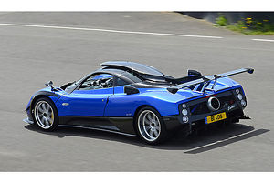 Pagani Zonda PS (upgraded to 760RS spec), 2013, Blue, & black