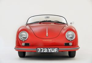 Porsche 356 1600 Speedster 1957 Red
