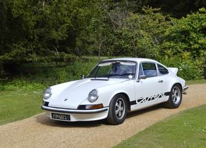 Porsche 911 Carrera RS 2.7 1972 White & black