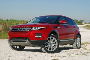 Range Rover Evoque 2013 Red dark