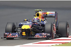 Red Bull Racing with Renault Engine Mark