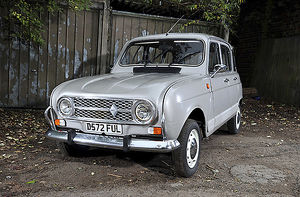 Renault 4, 1986, Silver