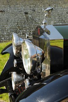 Rolls Royce Phantom 2 1930 green