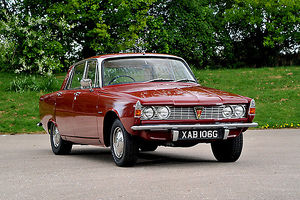 Rover 2000 SC Series 1, 1966, Red