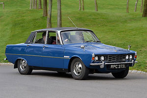 Rover 3500 S, 1973, Blue
