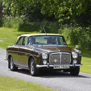 Rover P5, 1973, Brown