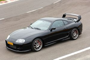 Toyota Supra Turbo 1995 Black