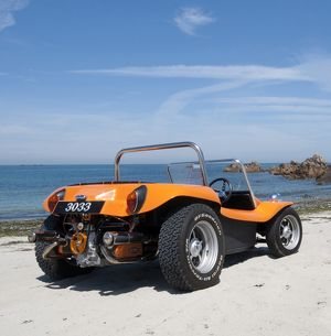 VW Classic Beetle-based Dune Buggy 1972 orange