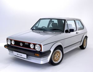 VW Golf Gti Mk.1 (studio) 1977 silver