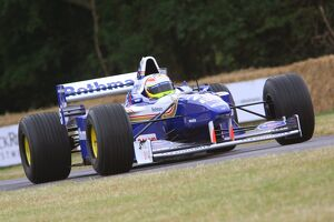 Williams-Renault FW18 F1 car from 1996 season, ex-Damon Hill, at FOS 09