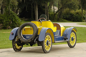 Willys Willys-Knight Speedster, 1915, Yellow, & blue